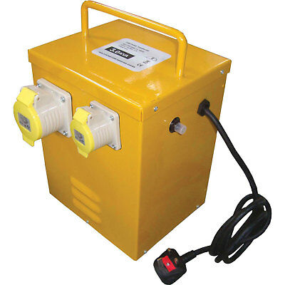 Faithfull Portable Continuous Rated Transformer 3Kva 240v