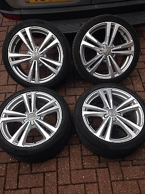 "Genuine Audi A3/S3 8V S Line 18"" Alloys and Tyres"