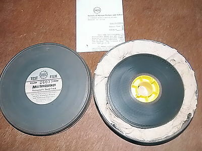 Bobine Test Film 35 Mm Multifrequency Opt Smpte    Rare