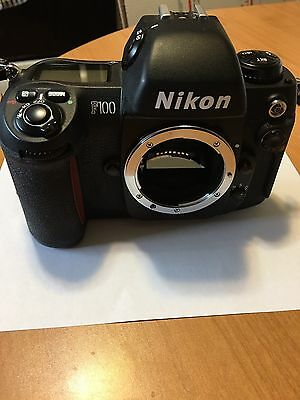 Nikon F100 35mm SLR Film Camera Body & Box