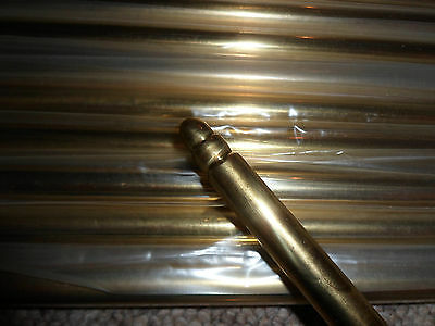 HEAVY QUALITY SOLID BRASS STAIR RODS x 12...... 95 c.m's Long .