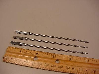 Lot Of 3 Synthes 310.21 Surgical Orthopedic Drill Bits 2.0Mm 125Mm
