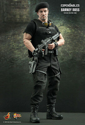 Hot Toys The Expendables Barney Ross 1/6th Scale Figure New Sealed in Box (USA)