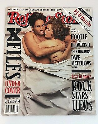 X-Files UNDER COVER Rolling Stone Magazine Issue #734 May 1996 Gillian Anderson