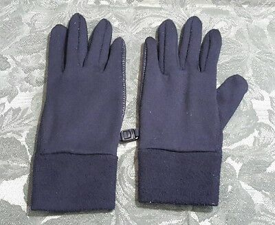 Women's Gloves, Black, L/ XL, Polyester Spandex Blend