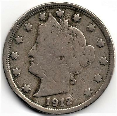 "1912 Liberty ""V"" Nickel"