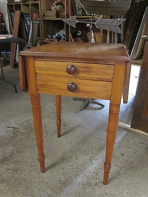 Antique 2 Drawer Drop Leaf Table
