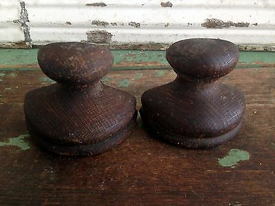 vintage finial wood top posts antique architectural salvage