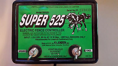 Super 525 Electric Fence Controller