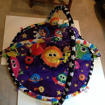 Tomy Lamaze Symphony Space Motion Gym Baby Kids Play Activity Rattle Teether Mat