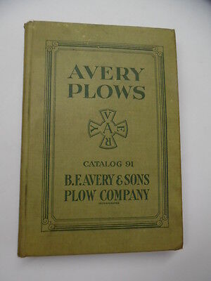 c.1915 BF Avery & Sons Plow Co Full Line Catalog Lauson Frost King Alamo Engines