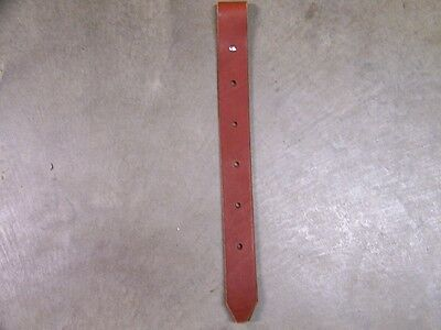 Leather Saddle Front Cinch Strap Off Billet Strap 1-3/4 Inches Wide XLong Length