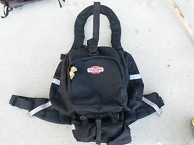 True North Spitfire linepack wildland firefighting black w/fire shelter bag