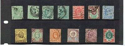 GB UK KG VII small set used Very High Catalogue Value