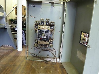 800 AMP THREE PHASE or TWO PHASE  ASCO Disconnect Generator Bypass Switch