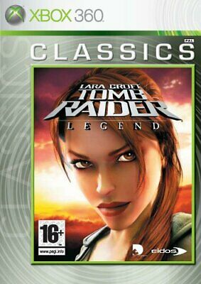 Lara Croft Tomb Raider - Legend - Tomb Raider: Legend (Xbox 360) - Game  40VG