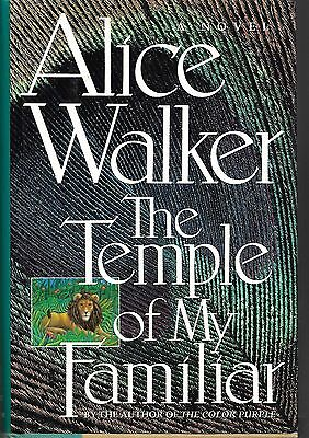 The Temple of My Familiar by Alice Walker (1989, Hardcover) 1st edition