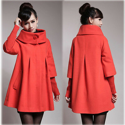 Pregnancy Maternity Coat Jacket Peacoat Outwear Trendy Elegant XS/S/M/L/XL/2XL