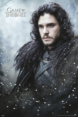 Game of Thrones Jon Snow Television Series TV Show Poster 24x36