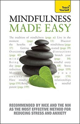 Mindfulness Made Easy: Teach Yourself by Langley, Martha Book The Cheap Fast