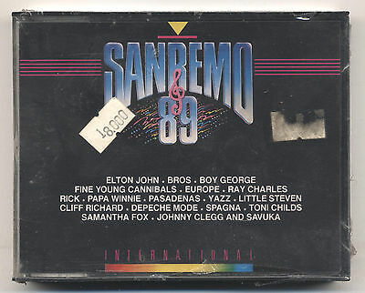 Musicassetta - AA.VV. - Sanremo 89 Internation - MC doppia - SIGILLATA - SEALED