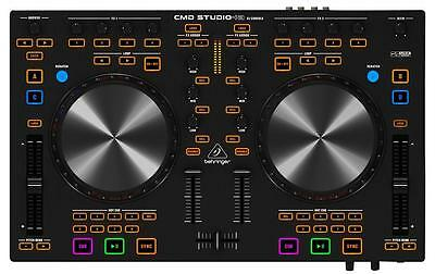 Behringer CMD STUDIO 4A 4 Deck Dj Midi Controller With 4 Channel Audio Interface
