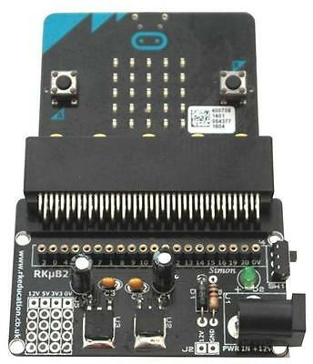 Rk Education Powered Edge Connector Breakout Board For Bbc Micro:bit Self Build