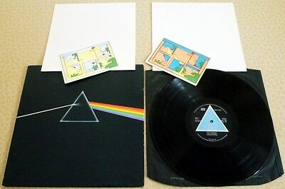 PINK FLOYD, DARK SIDE OF THE MOON, 1973 1st PRESS SOLID BLUE TRIANGLE HARVEST LP