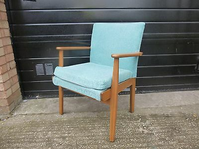 Vintage Parker Knoll Retro Danish Style Arm Chair PK733