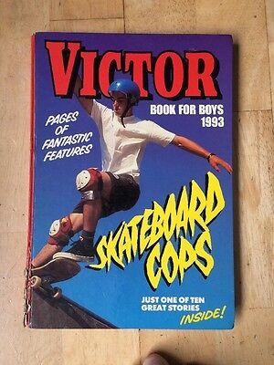 THE VICTOR BOOK FOR BOYS ANNUAL 1993 Excellent Condition