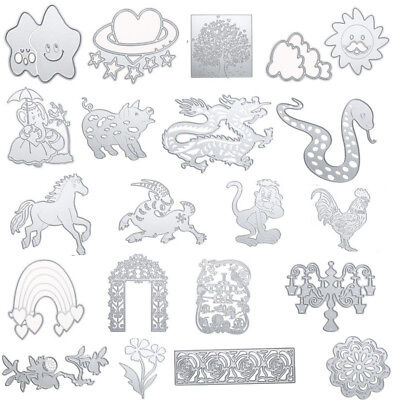 Craft DIY Decor Metal Die Cutting Dies Stencil Scrapbooking Card Paper Embossing