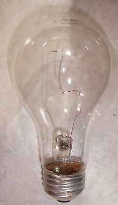 24 New 100 Watt Clear GE Light Bulbs A19 1730 Lumens 750 hour Case of 24