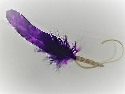 Sage Smudge Smudging Feather Purple
