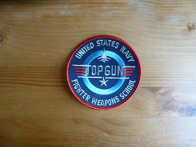 F-14 Tomcat Top Gun Patch Badge US Navy Maverick Tom Cruise Miramar Aviation