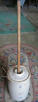 Red Wing Union Stoneware 2 Gallon Butter Churn