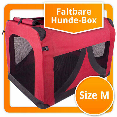 Faltbare Hundebox Hunde Transport Box Transportbox für Hund Katzen S M L XL XXL