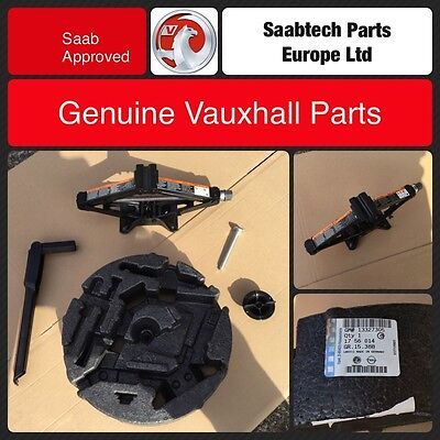 New Genuine Vauxhall Insignia Jack, Handle And Tool Kit Foam Brand New