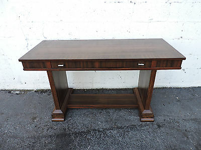 Art Deco Early 1900s Writing Desk Console Table 8148