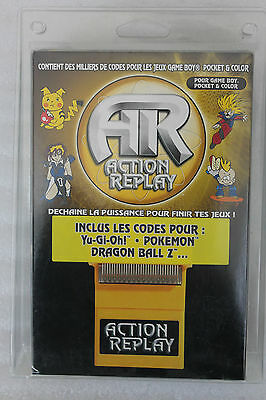 Action Replay Schummelmodul GameBoy Cheat Codes Yu-Gi-Oh Pokemon Dragon Ball Z