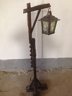Laura Ashley Desk Lamp Stand Solid Wood Barley Twist