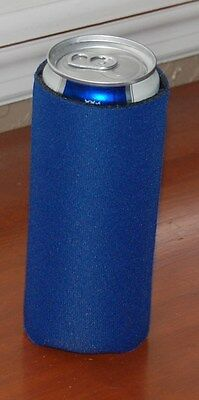 Lot of 2 Michelob Ultra Koozie slim can cooler BLUE NEW FREE SHIPPING