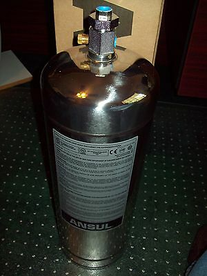 """ANSUL R-102 """"3 Gallon Stainless Steel Tank"""" - Part # 429862 - """"New In Box"""""""