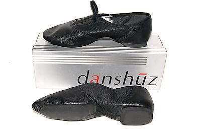 Girl & Women Danshuz Split Sole Jazz Shoes Black. Pick Your Size