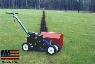 """TRENCHER Commercial - Dual Belt Driven - 5.5 Hp Honda - 1.5"""" W x 7"""" D Trench"""