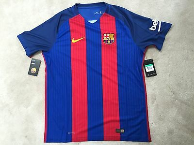 bc693133c04 NIKE VAPOR MATCH Authentic 16-17 Barcelona Home Jersey