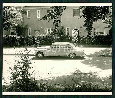 "Foto Mercedes Benz 300 d (1959) W189  ""Adenauer"" Limousine Oldtimer CAR Photo"