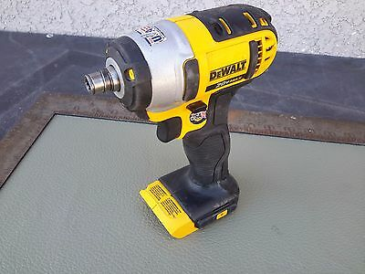 "Dewalt 1/4"" Cordless Impact Driver 20 V MAX Li-Ion DCF885 bare tool no battery"