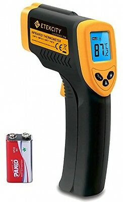 NEW Etekcity Lasergrip 774 Non-contact Digital Laser IR Infrared Thermometer, -
