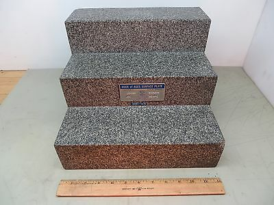 "Granite Angle Plate 12 x 12 x 9"" Rock Of Ages Vermont USA"