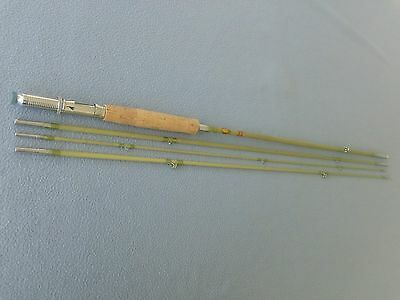 Rare Vintage N. J. P. Fly - Spinning Rod Combination-Solid Fiberglass-Looks New